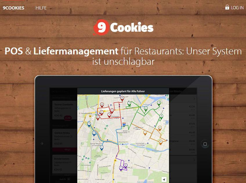 9cookies screenshot