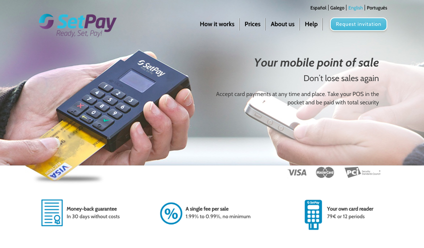 SetPay screenshot