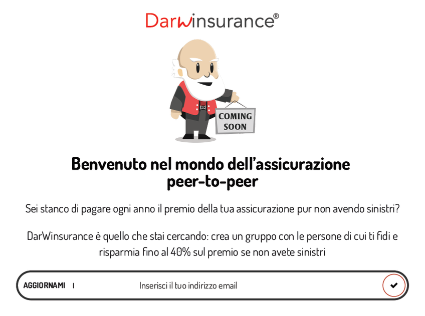 Darwinsurance screenshot