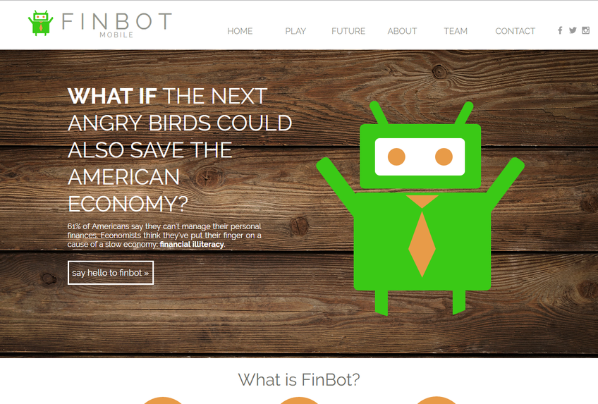 FinBotMobile screenshot