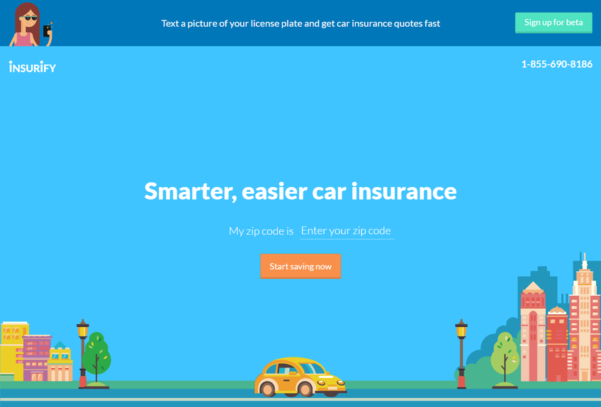 Insurify screenshot