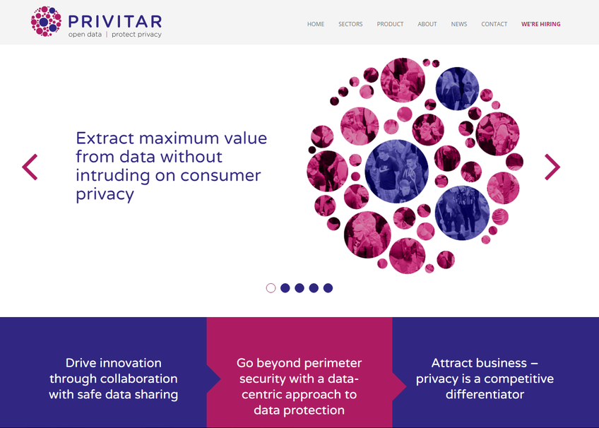 Privitar screenshot