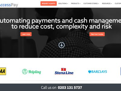 AccessPay | Bacs Approved Direct Debit Software image