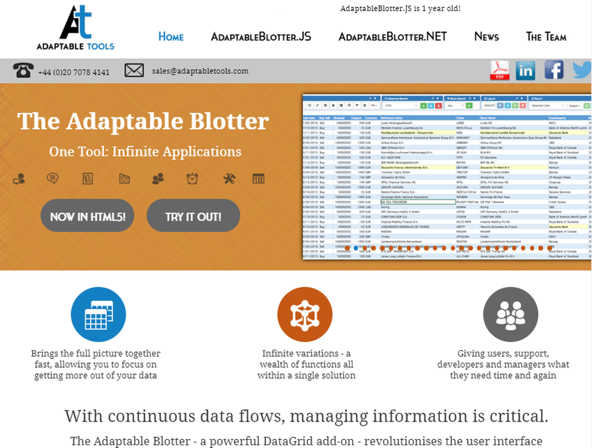 Adaptable Tools screenshot