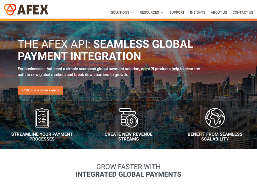 AFEX screenshot