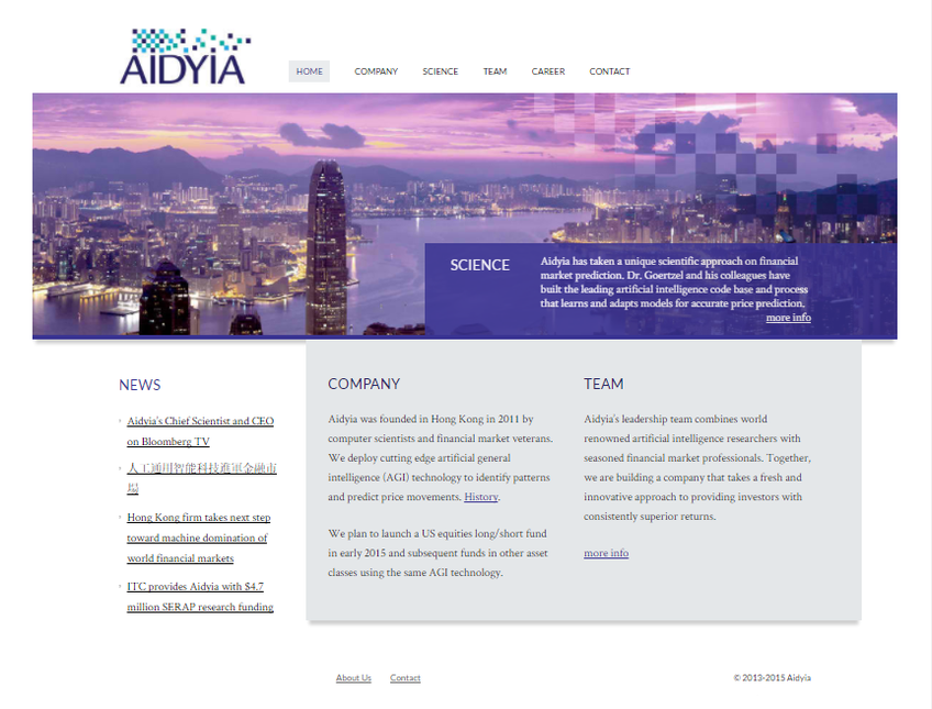Aidyia screenshot