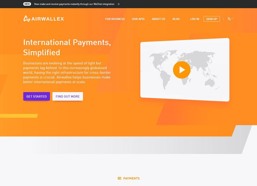 Airwallex screenshot