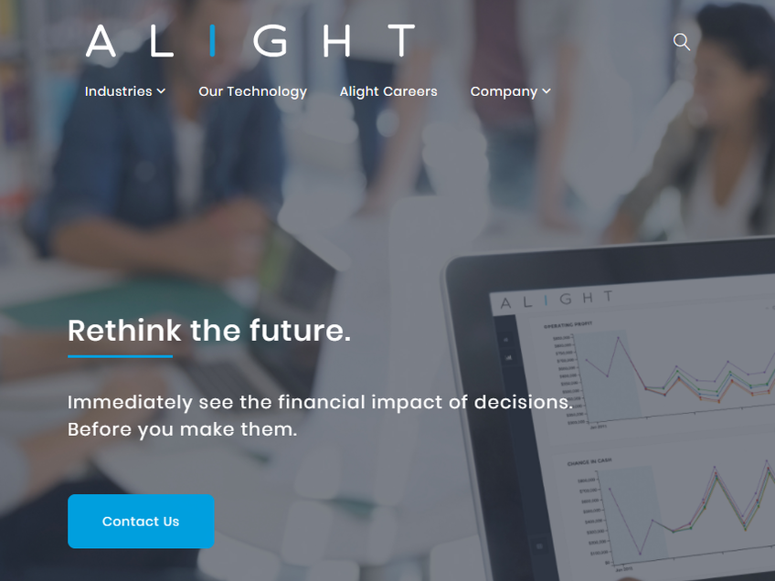 Alight, Inc. screenshot