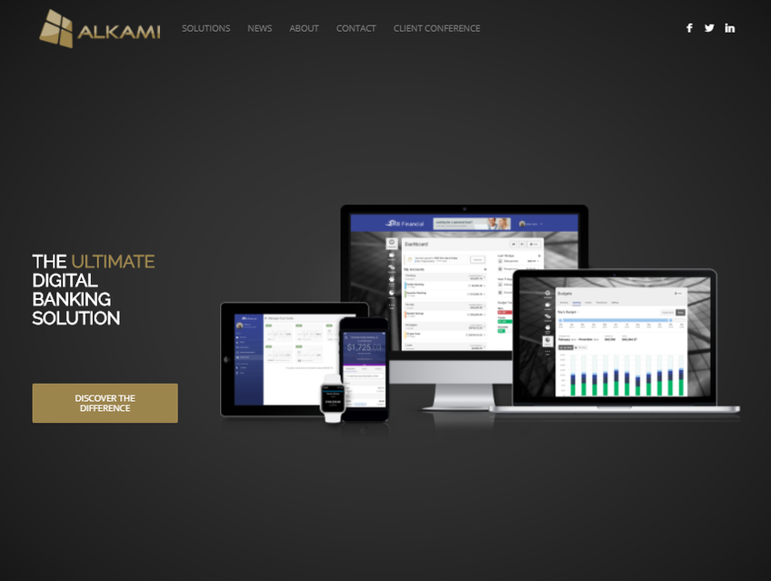 Alkami Technology screenshot