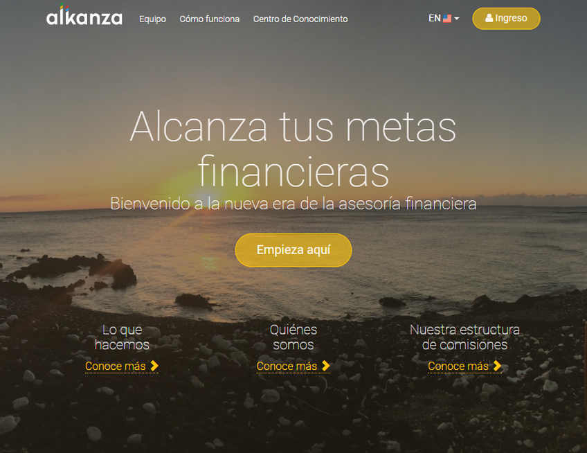Alkanza screenshot