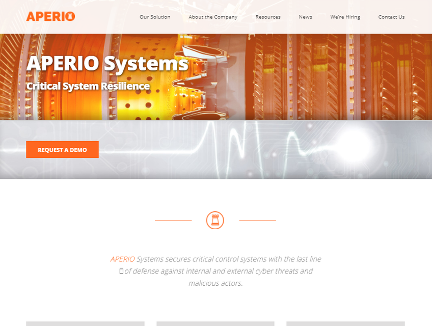 Aperio Systems screenshot