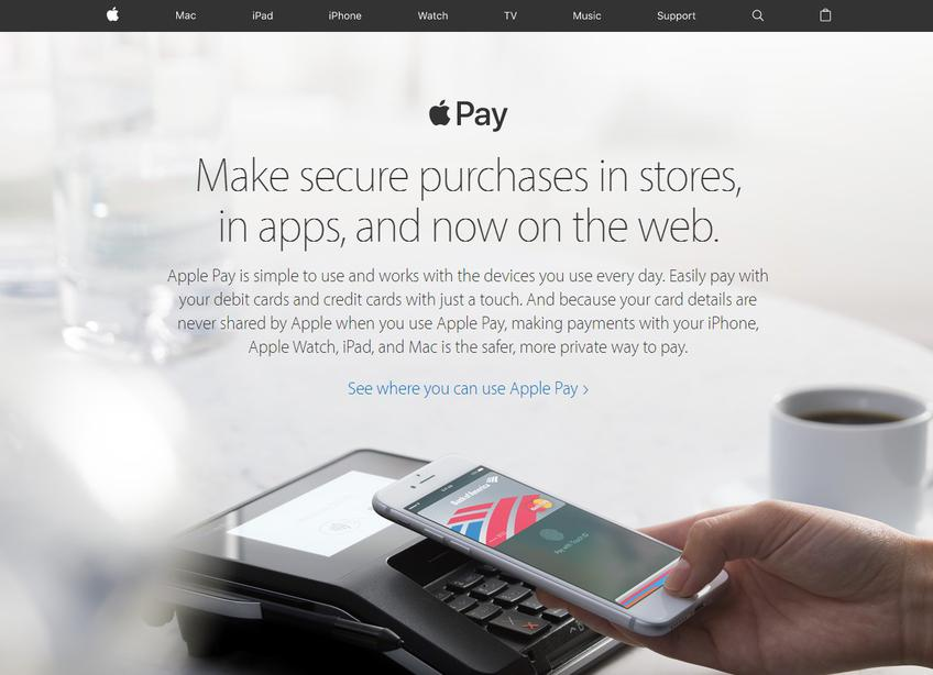 Apple Pay screenshot