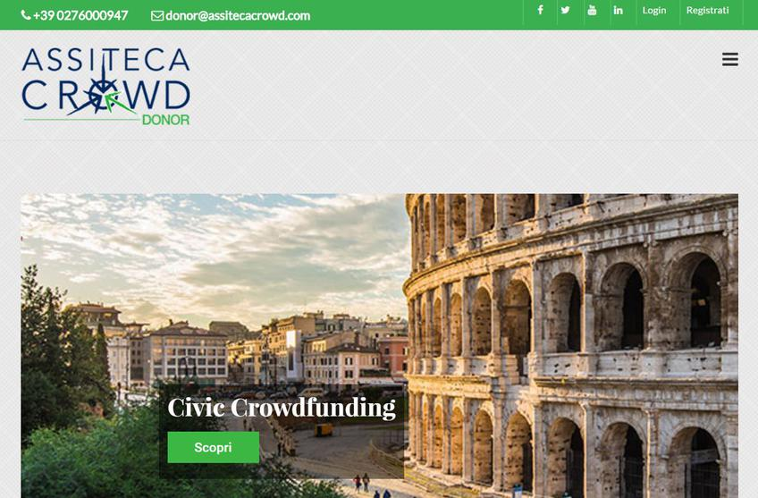 Assiteca Crowd Donor screenshot