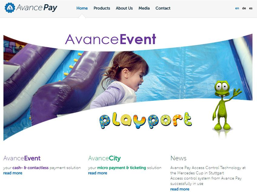 AvancePay screenshot