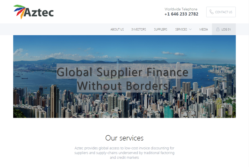Aztec Exchange screenshot