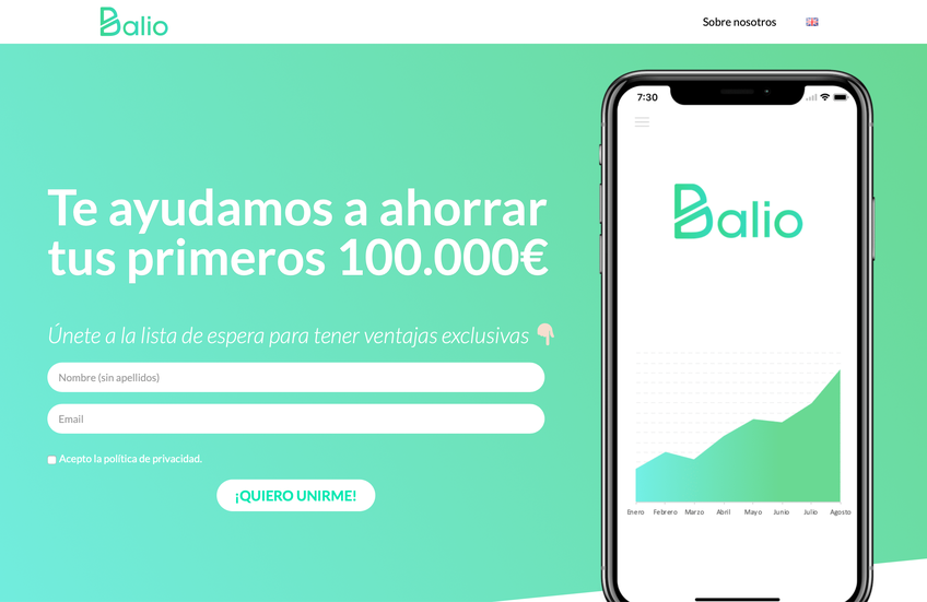 Balio screenshot