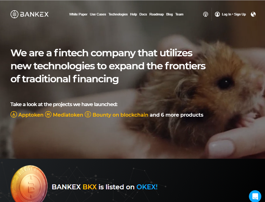 BANKEX screenshot