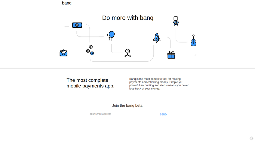 Banq screenshot