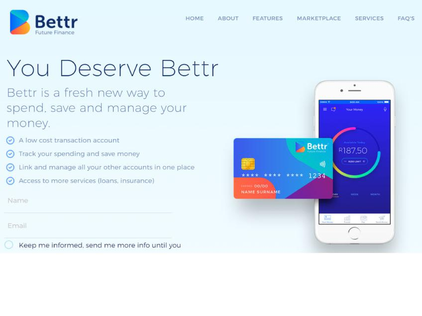 Bettr Finance screenshot