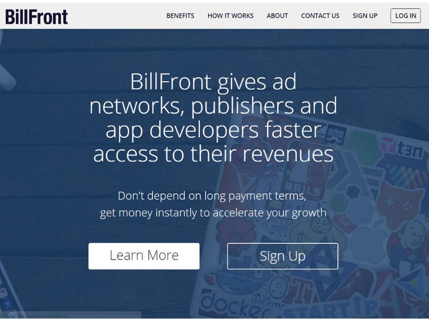BillFront screenshot