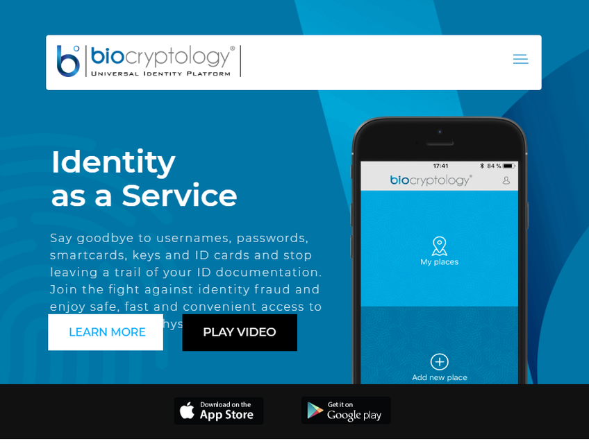 Biocryptology screenshot