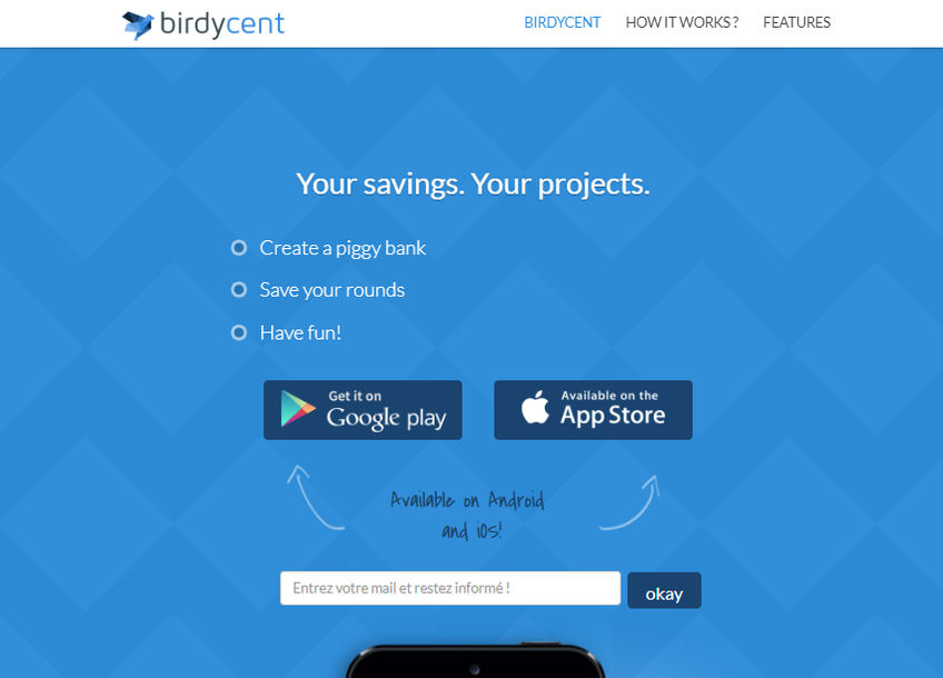 Birdycent screenshot