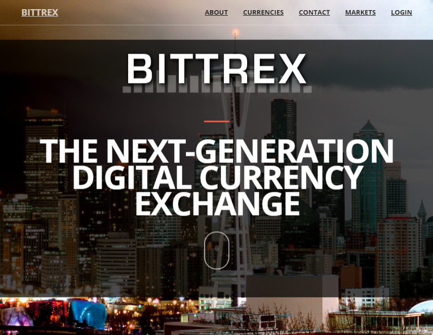 Bittrex screenshot