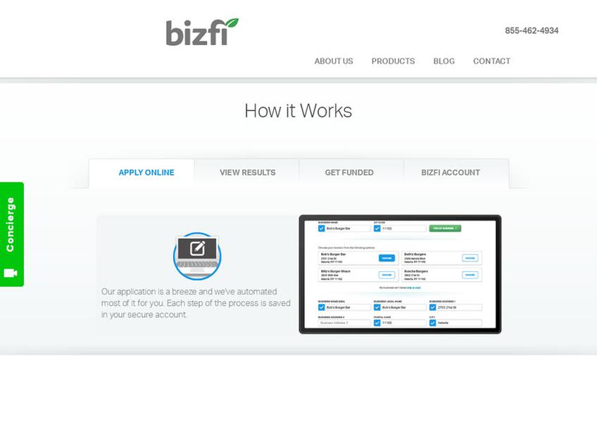 BizFi screenshot