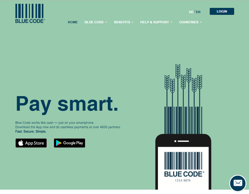 Bluecode screenshot
