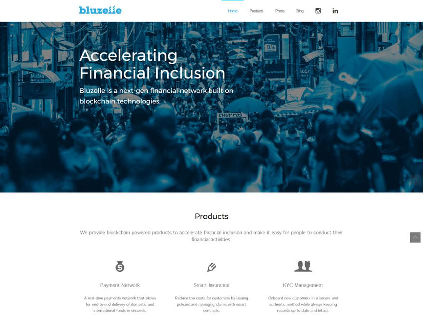 Bluzelle screenshot