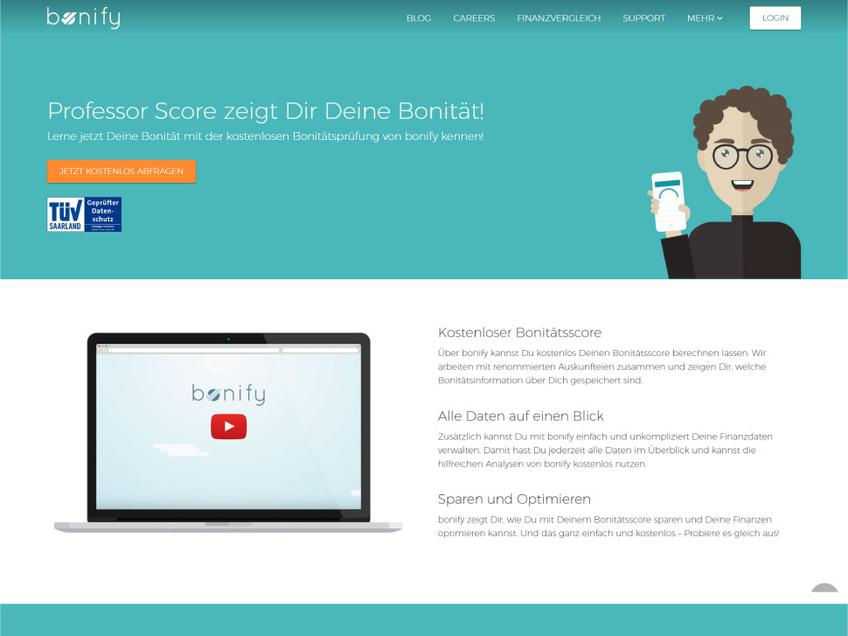 Bonify screenshot