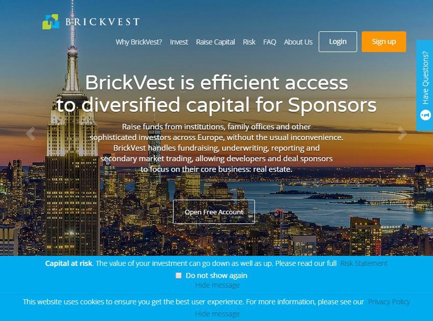 Brickvest screenshot