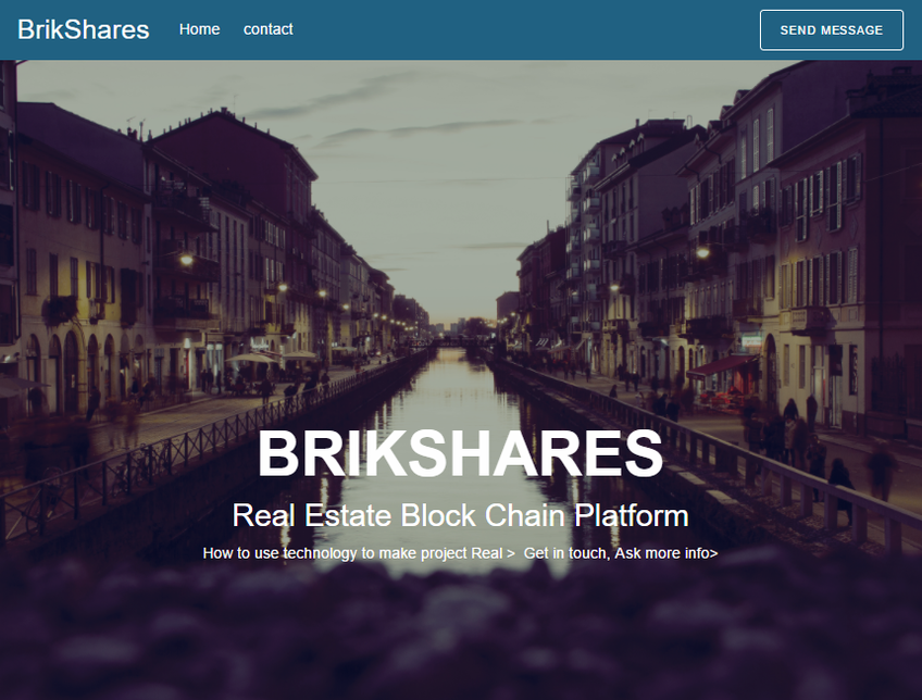 Brikshares screenshot