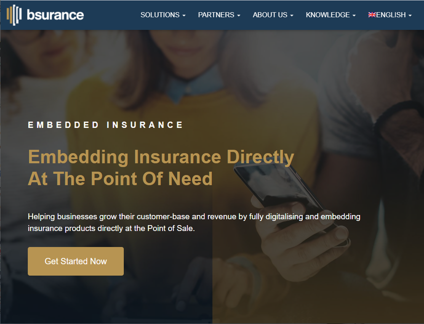 bsurance screenshot