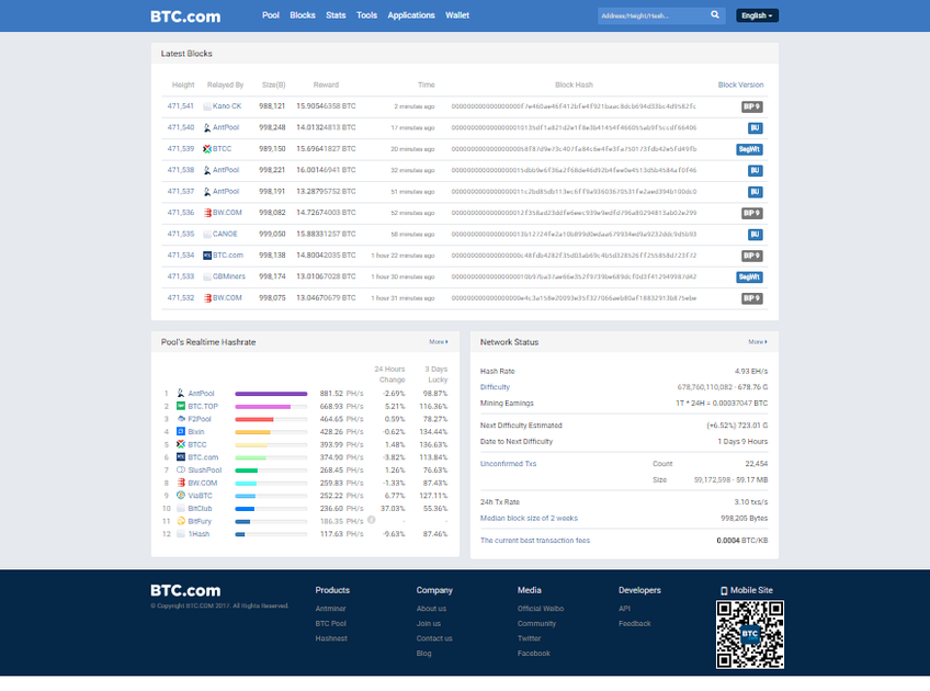 BTC.com screenshot