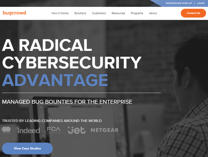Bugcrowd screenshot