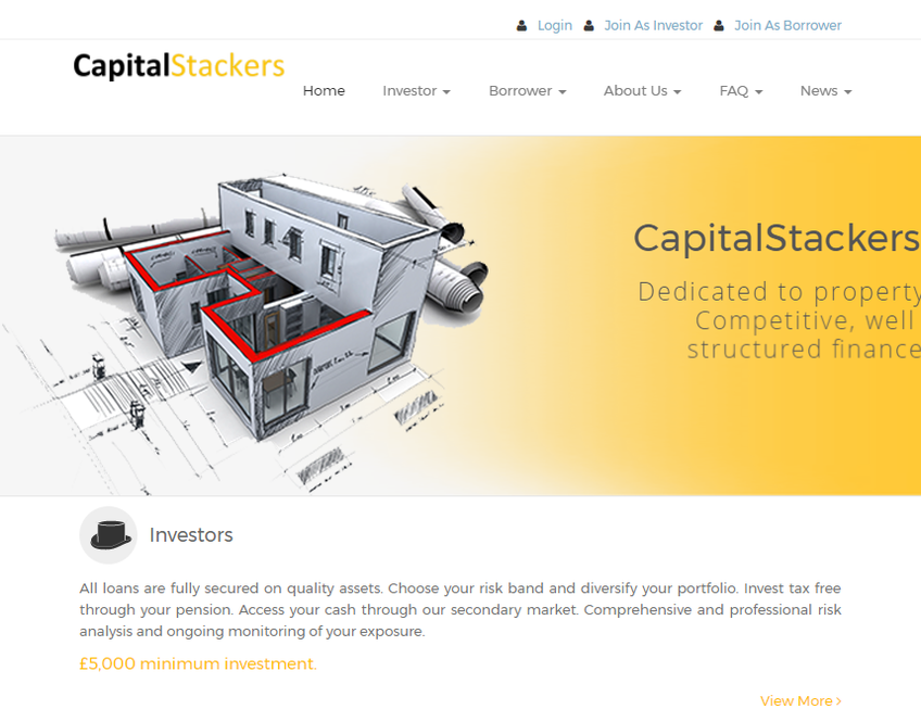 CapitalStackers screenshot