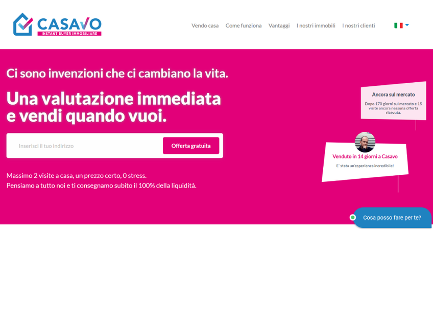 Casavo screenshot
