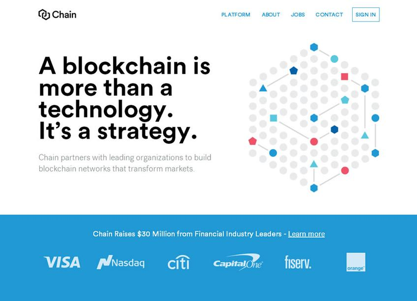 Chain screenshot
