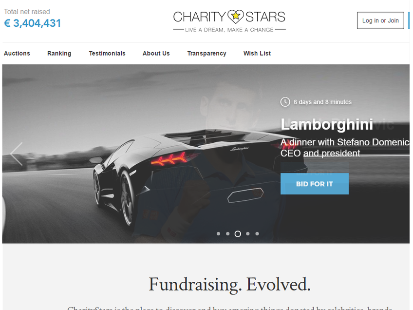 CharityStars screenshot