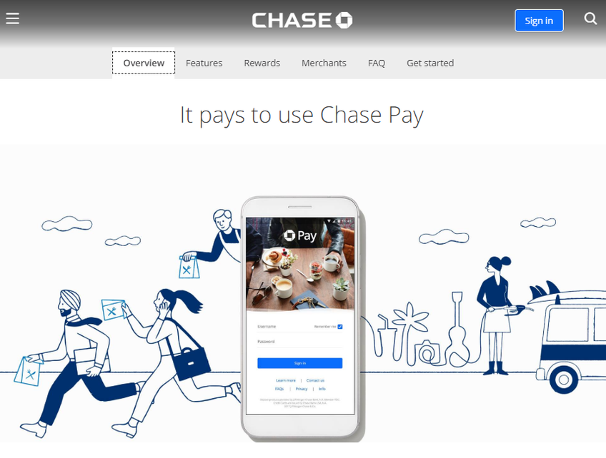 Chase screenshot