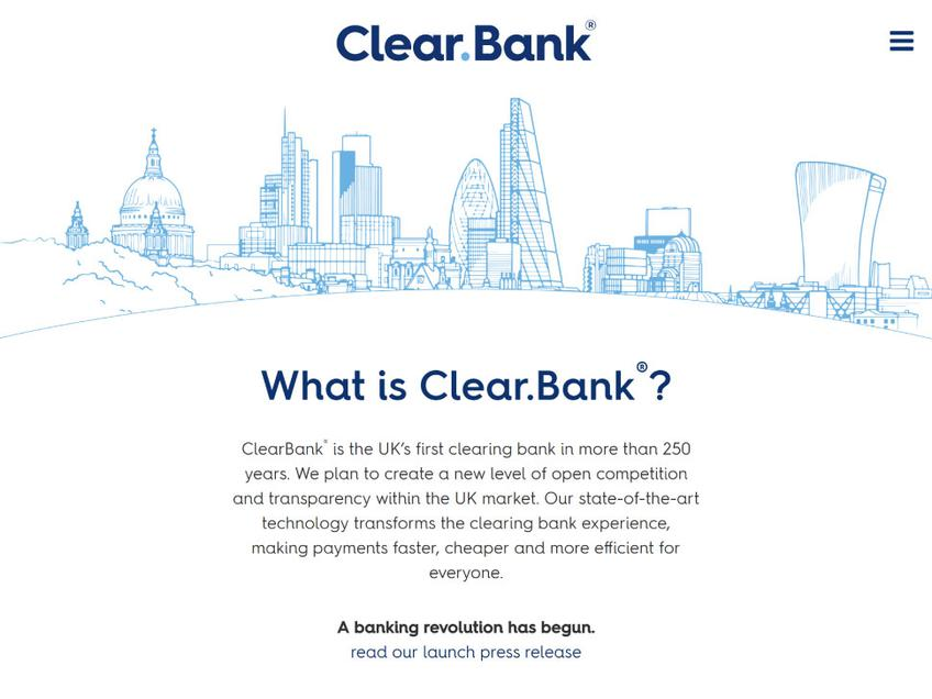 ClearBank screenshot