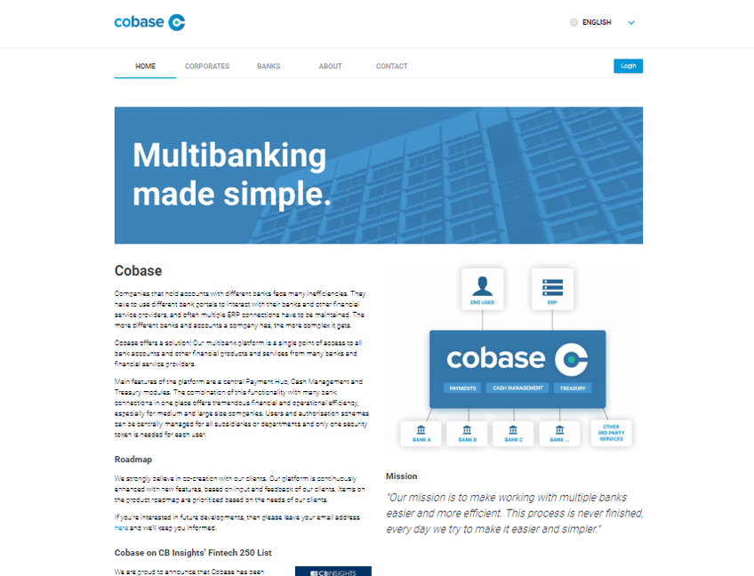 Cobase screenshot