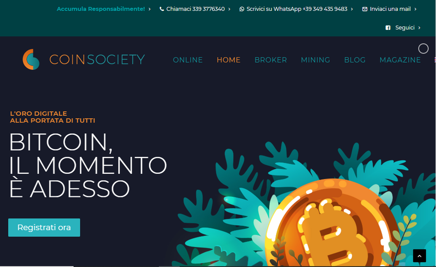 Coin Society Online screenshot