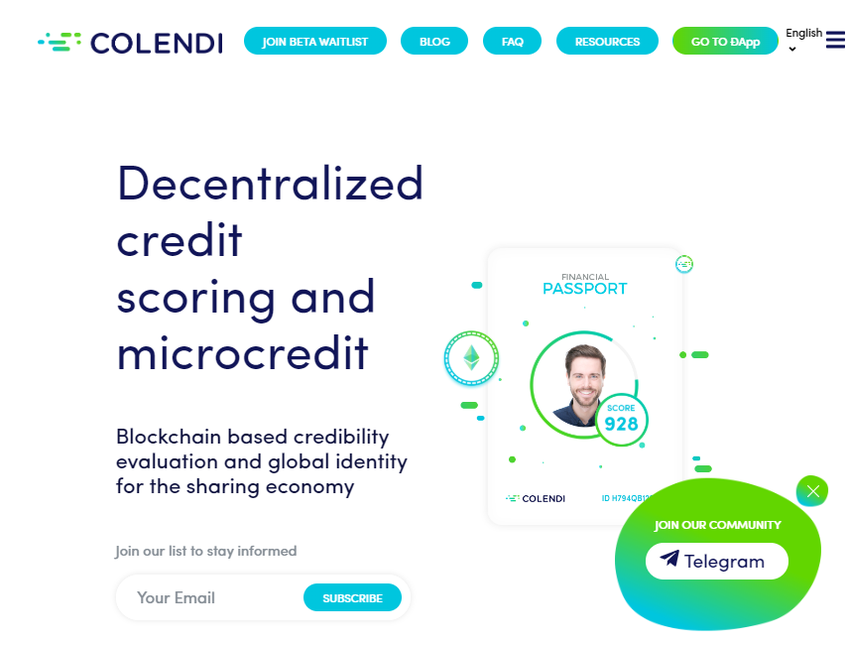 Colendi screenshot