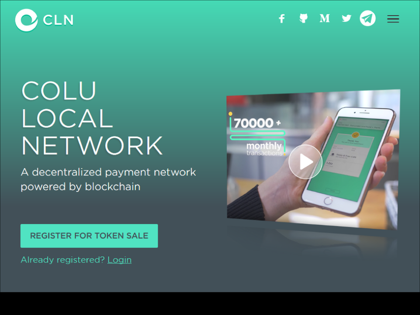 Colu Local Network screenshot