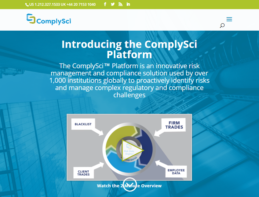 ComplySci screenshot
