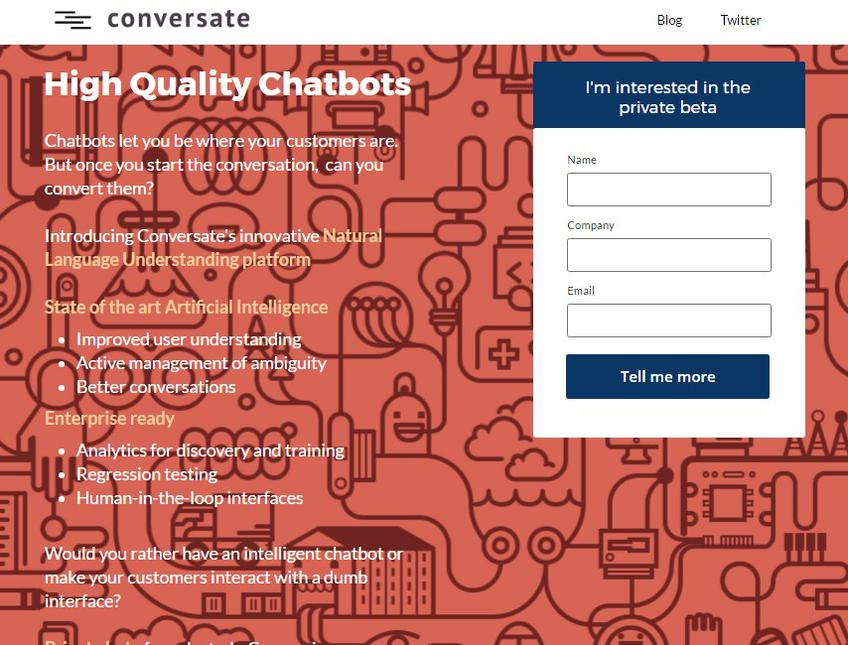 Conversate screenshot