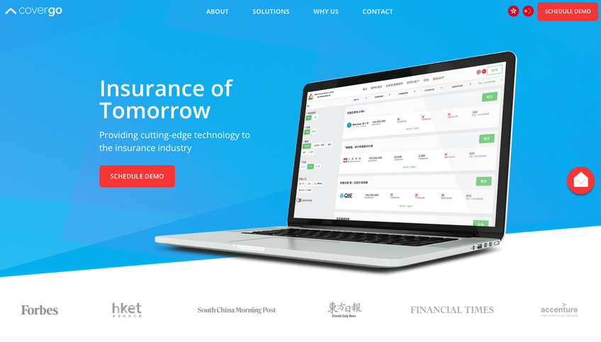 CoverGo | Insurtech screenshot