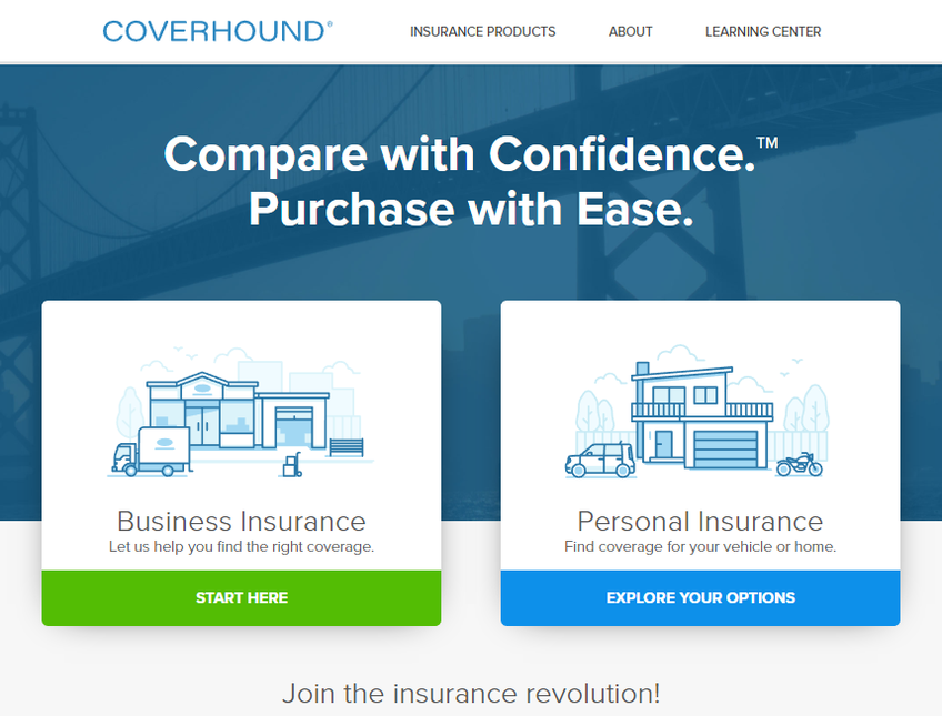 Coverhound screenshot